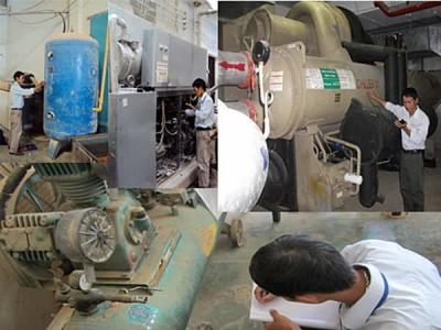 Lưu ý về kiểm định máy nén khí, bình khí nén | Lao Động Việt